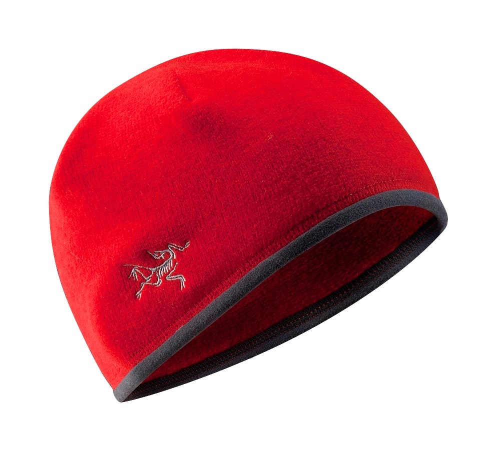 Arcteryx Road Rash Red Covert Beanie